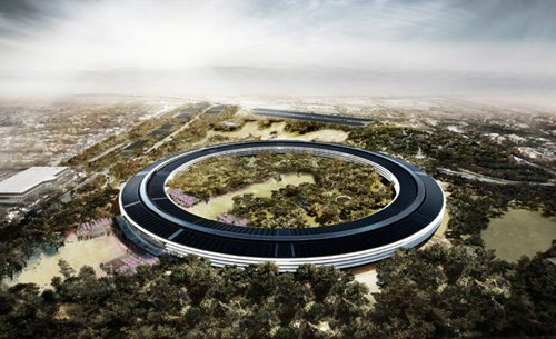 Apple Spaceship Campus - Evans Graphics