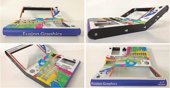 MDF fusion graphic overlays - Evans Graphics