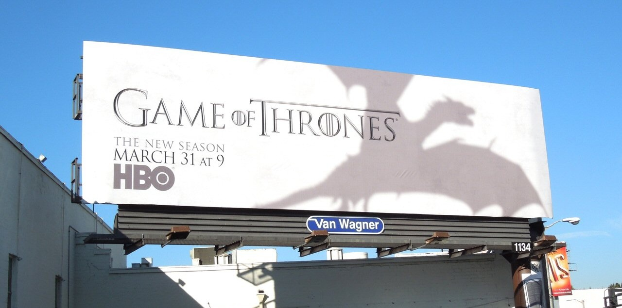 Game of Thrones Billboard - Evans Graphics