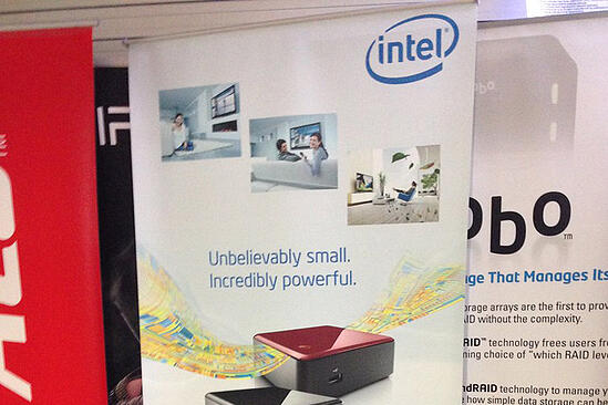 Intel Pull-Up Banners - Evans Graphics