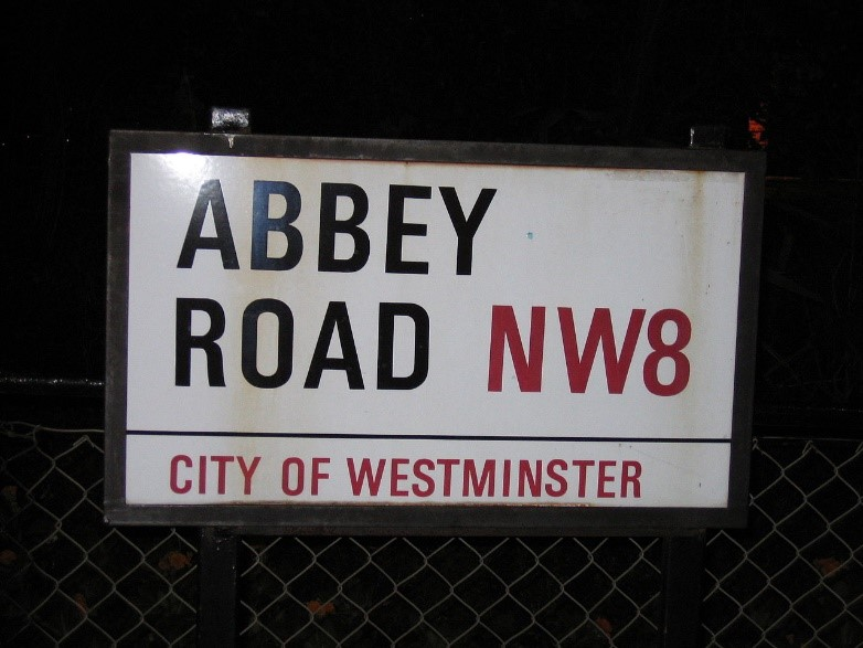 Abbey Road Signage - Evans Graphics