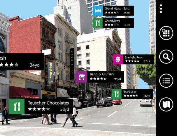 bing maps screen shot