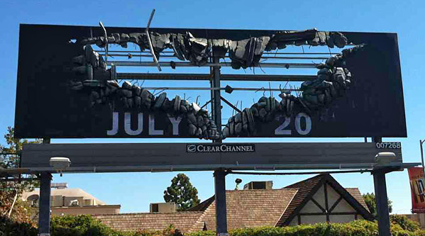 Batman Billboard - Evans Graphics