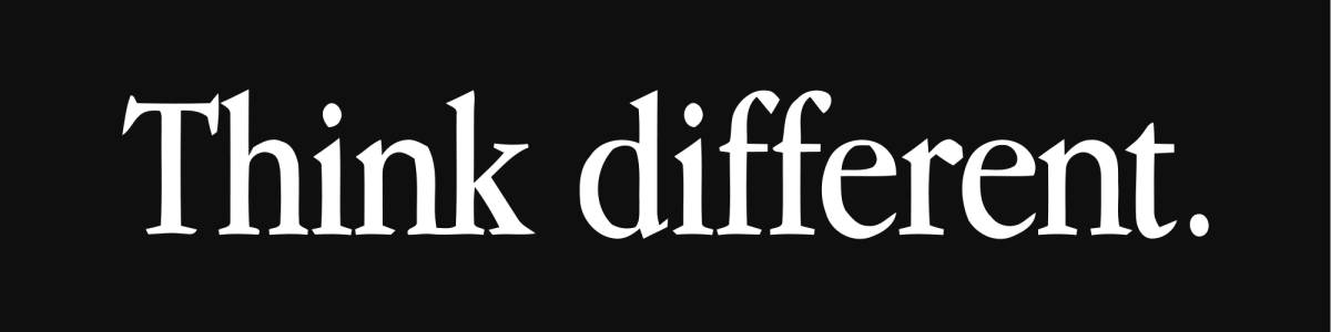 Think Different Messaging - Evans Graphics