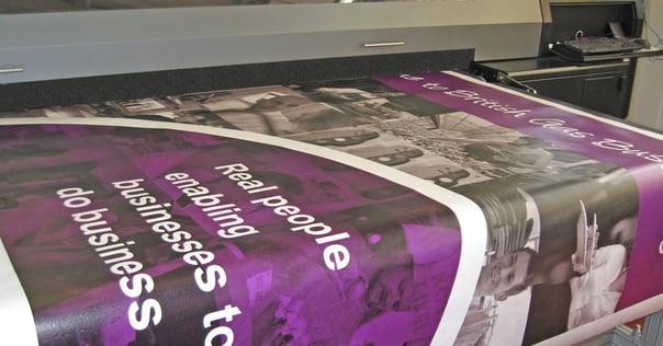 MDF Tyvek poster - Evans Graphics