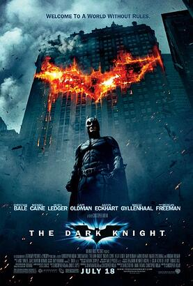 The Dark Knight Poster - Evans Graphics