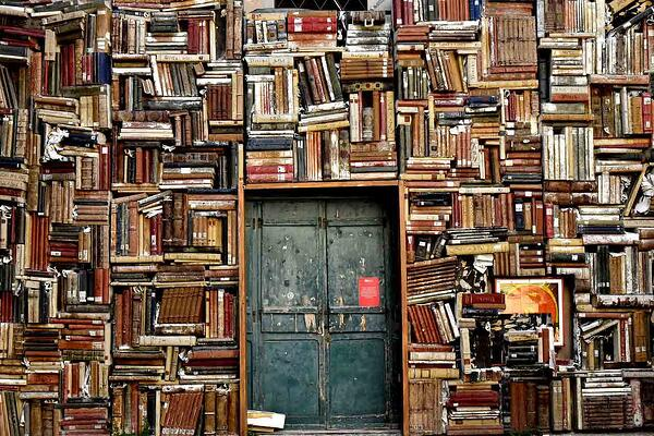 Wall of Books - Evans Graphics