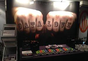 Tattoo exhibition stand
