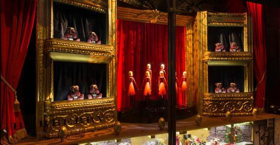theatre window display