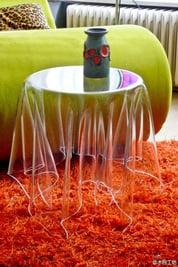 cool acrylic table