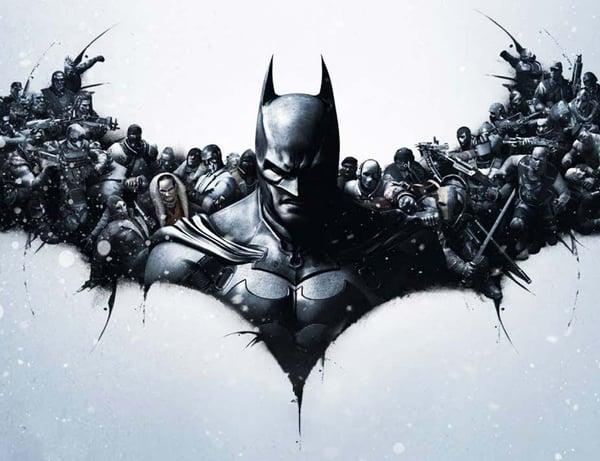 Batman Large Format Print - Evans Graphics