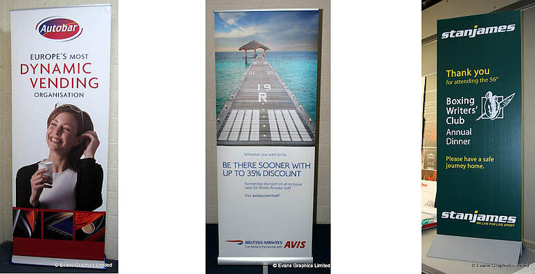 Pull-Up Banner Examples - Evans Graphics