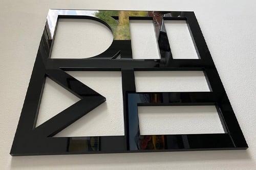 reception-signage