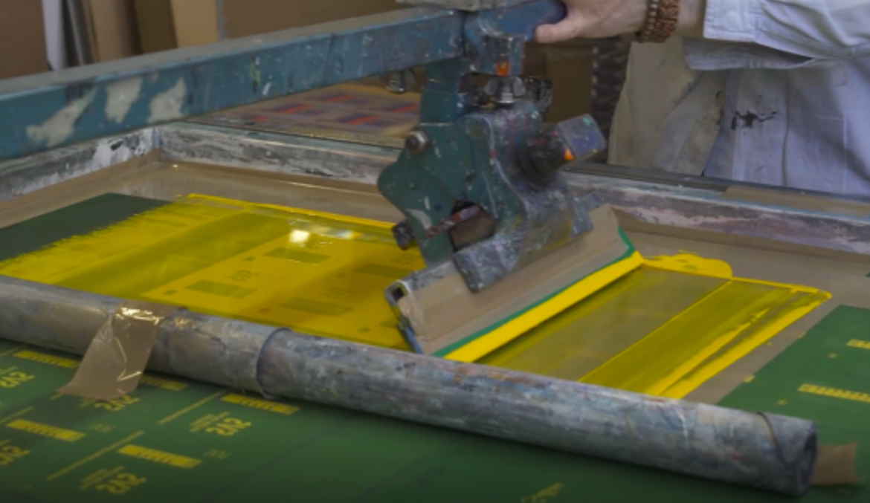 Screen Printing Process - Evans Graphics