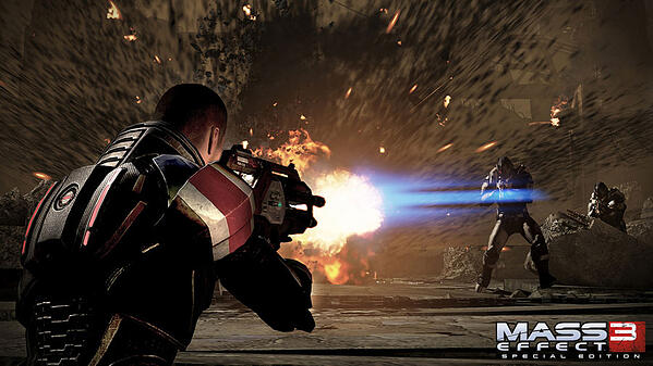 mass effect 3 game screen shot
