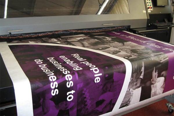 Vinyl Banner Printing - Evans Graphics