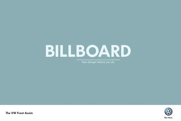 Volkswagen Billboard, Large Format Print - Evans Graphics
